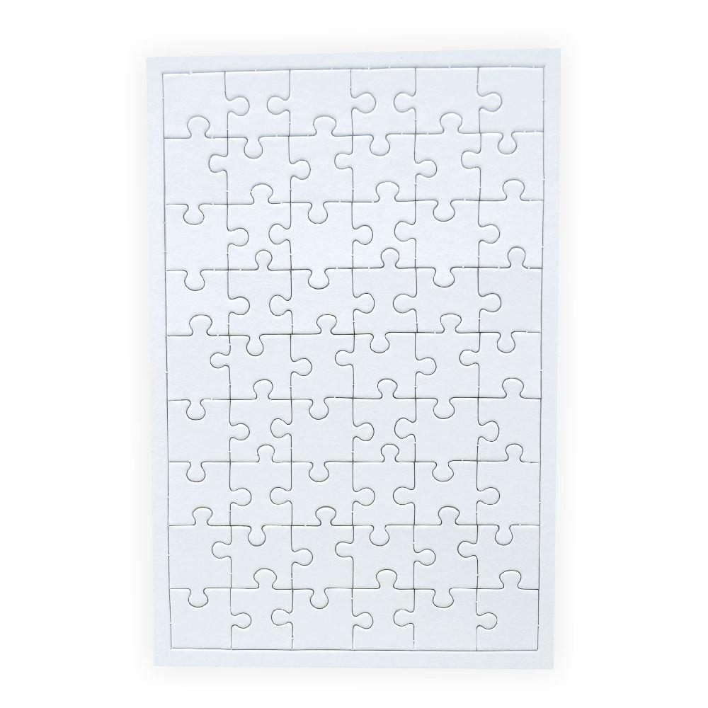 10 pz Creleo  790088 Puzzle per dipingere 54 Parti con Struttura Rettangolare