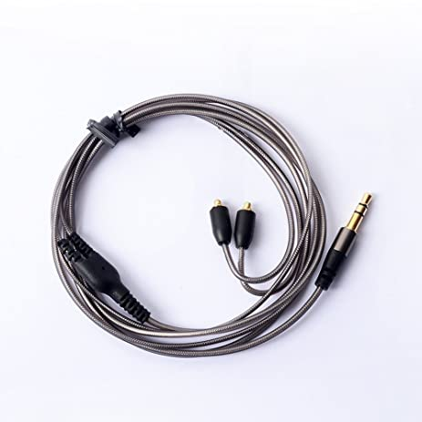 WS MMCX Replacement Cable Detachable Earphones Replacement Cable Replacement Cord for Shure SE215 SE315 SE425 SE535