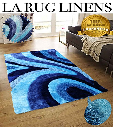 aqua colored rug - 1