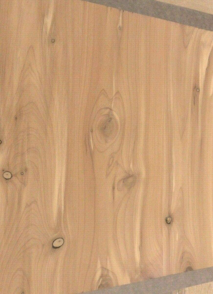 """Aromatic Cedar wood veneer sheet 8/"""" x 10/"""" inch with paper backer 1//40/"""" thickness"""