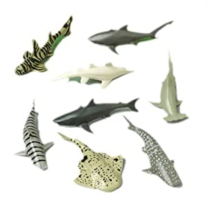 Shark Toy Animals (2-Packs of 12 each)