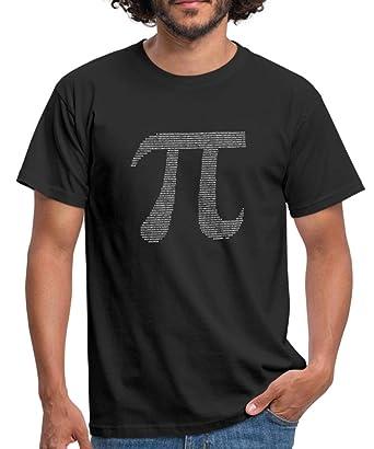 5fbeba894 Spreadshirt Maths Pi Sequence Men's T-Shirt: Amazon.co.uk: Clothing