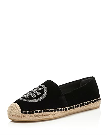 Tory Burch Woman Fringed Leather Espadrilles Black Size 5.5 Tory Burch qOmZLSF
