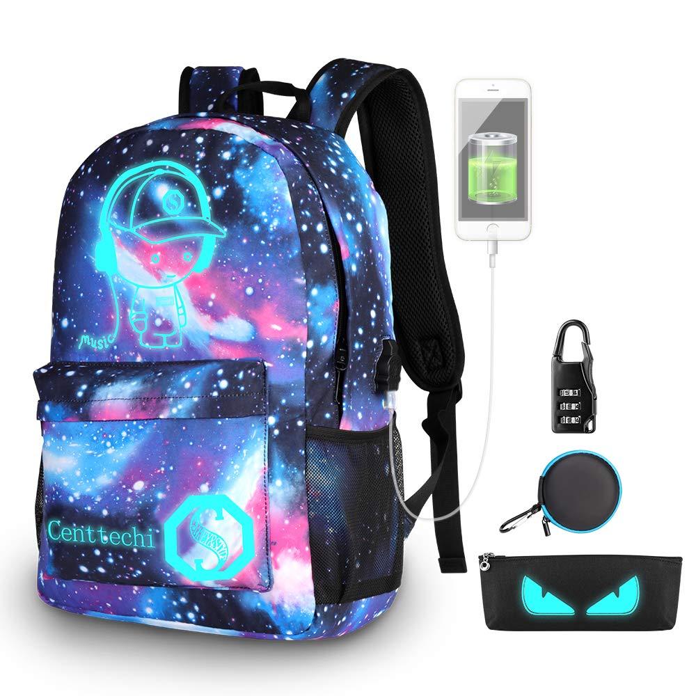 Rucksack Junge Mädchen Schulranzen Uni Reise Laptop Tasche Backpack Gepolstert