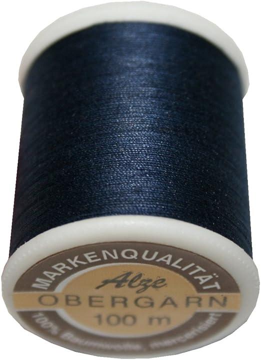 100 M Hilo de coser exterior hilo algodón grosor 50/3 Color 1028 ...