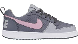 new concept f0dd2 14e64 Nike Court Borough Low (GS) Chaussures de Basketball Femme