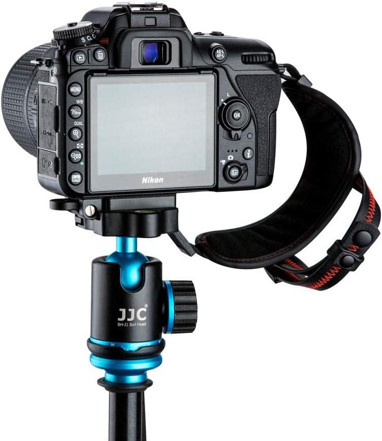 JJC Deluxe Camera Hand Grip Strap for Canon EOS 6D Mark II 5D Mark IV III 7D 90D 80D Rebel T8i T7i T6i T7 T6 Powershot SX70 HS Nikon D750 D780 D850 D500 D7500 D7200 D5600 D3500 Coolpix P1000 /& More