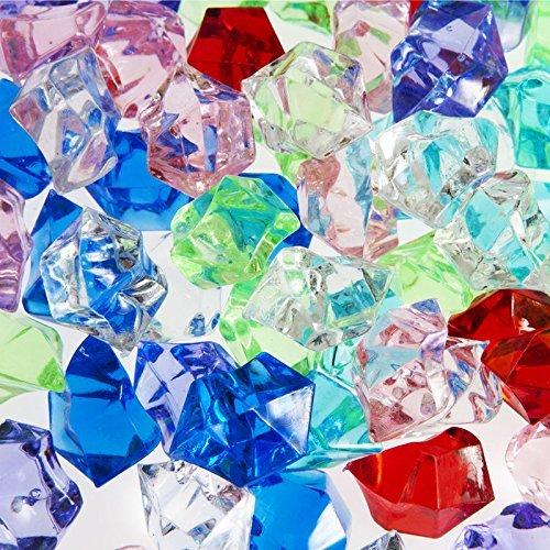 (Century Novelty Dashington Bulk Pirate Jewels and Acrylic Gems, 1 Pound Bag, Approximately 160)