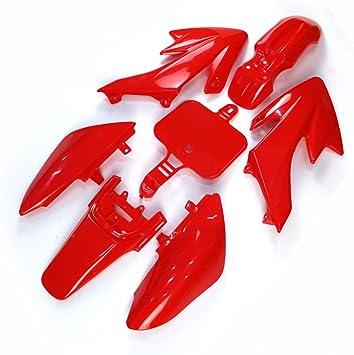 ABS Plastic Fender Fairing Body Work Kit Set For XR50 CRF50 Chinese 50cc 70cc 90cc 110cc 125cc 140cc 150cc 160cc Dirt Pit Bike