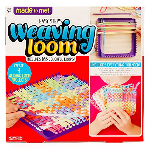 Made By Me Weaving Loom by Horizon Group USA - Weaving Pot Holder Loom