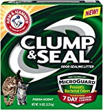 Arm & Hammer Clump & Seal Litter with Micro Guard, 14 Lbs