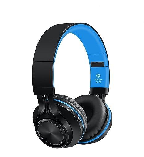 Sound One Bt 06 Bluetooth Headphones Blue Buy Sound One Bt 06 Bluetooth Headphones Blue Online At Low Price In India Amazon In
