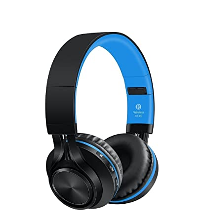 c0105366a93 Sound One BT-06 Bluetooth Headphones (Blue): Buy Sound One BT-06 Bluetooth  Headphones (Blue) Online at Low Price in India - Amazon.in