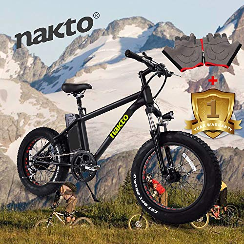 NAKTO Fat Tire Mountain