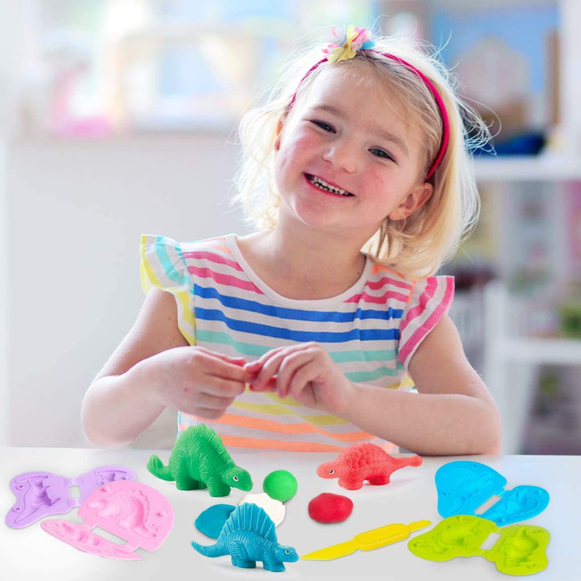 36 Colors Model Magic Clay Molding Clay Non Toxic Sculpting Clay DIY Clay Modeling Kit Wrystte Air Dry Clay Modeling Clay for Kids 39 Packs