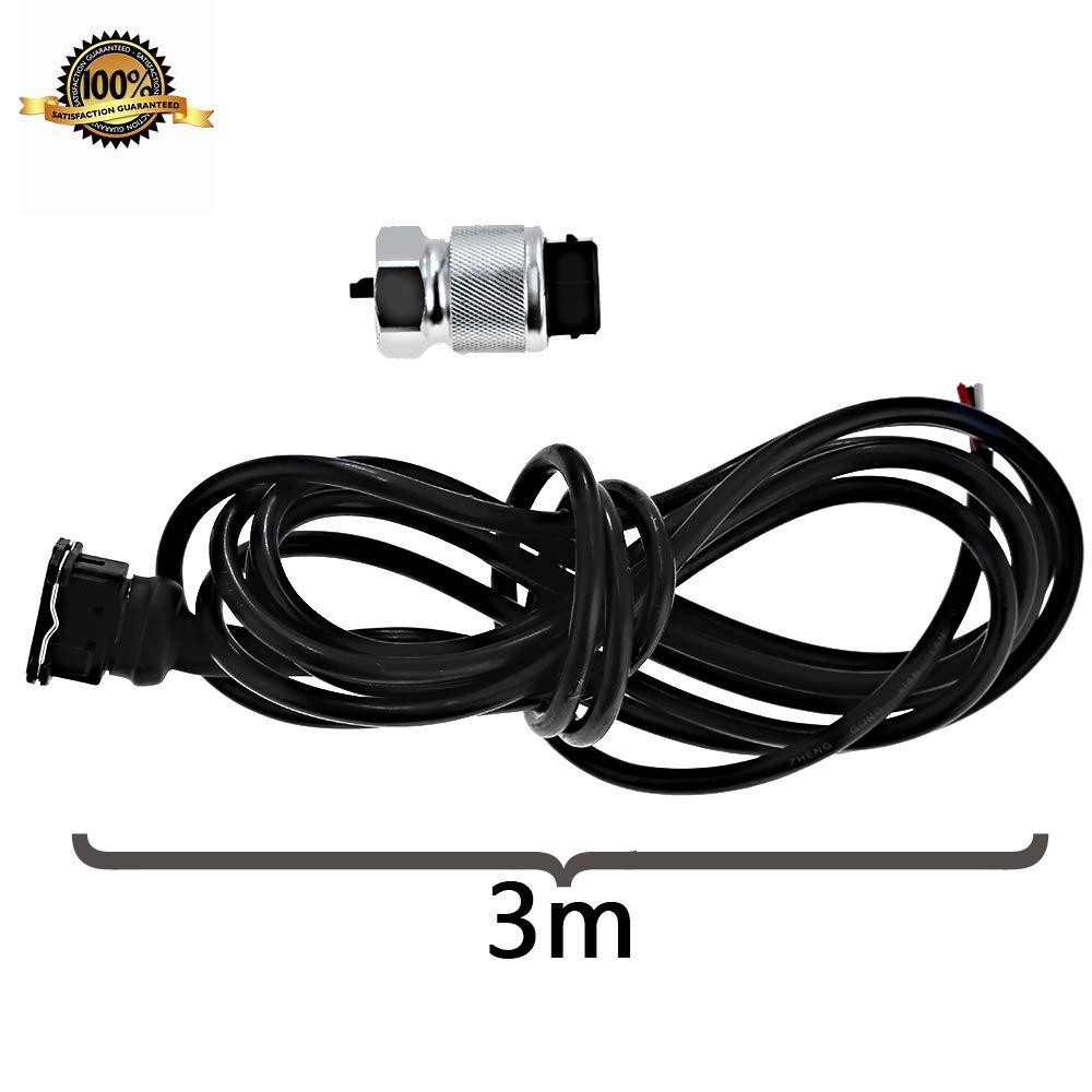 Anxingo Speedometer Sender Speedometer Sensor Adapter for GM 16 Pulse Generator 10 Foot Harness Hall Effect