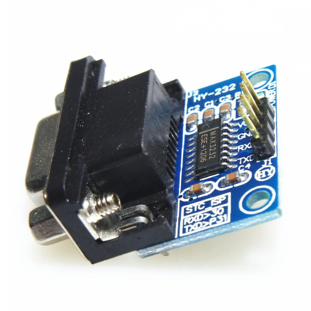 RS232 Serial Port To TTL Converter Module - TOOGOO(R) MAX232CSE Transfer Chip RS232 To TTL Converter Module COM Serial Board