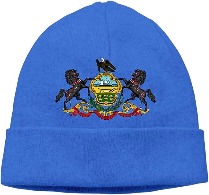 Helidoud Virginia State Flag Winter Beanie Hat Knit Skull Cap for for Men /& Women