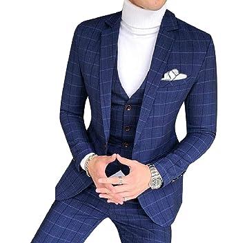 AngelSpace Men\'s Plus-Size Wedding Dress Business Blazer Tux Vest ...