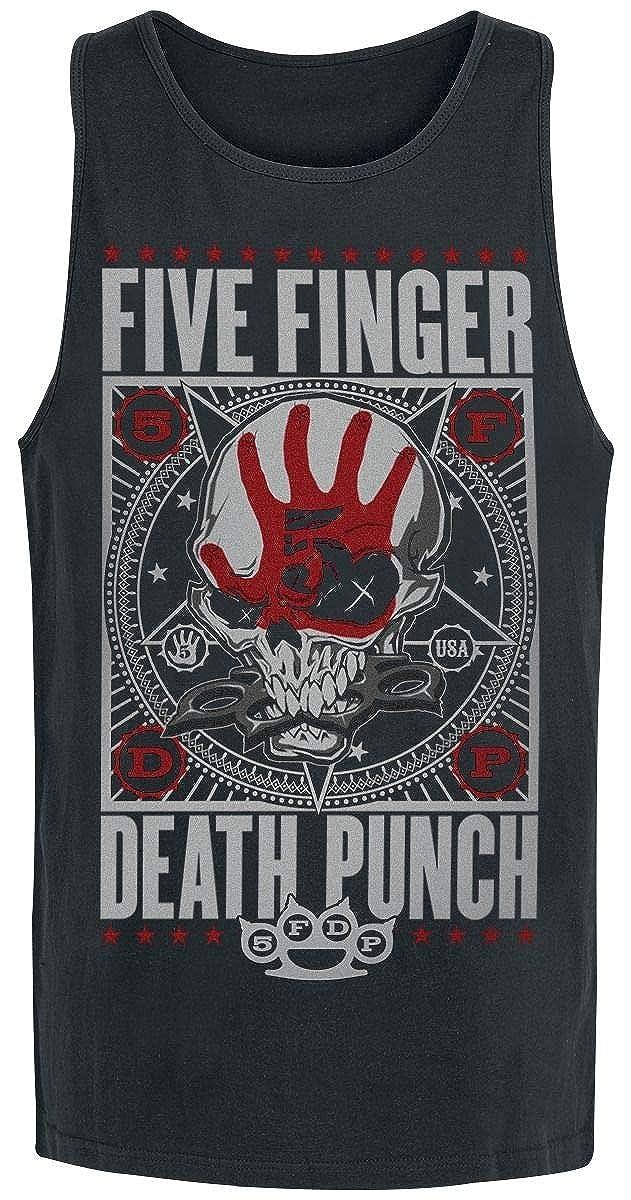 Five Finger Death Punch Punchagram D/ébardeur Noir