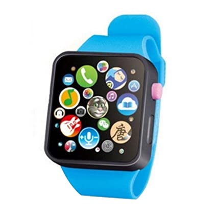 UKCOCO Reloj de pulsera con pantalla táctil Smart Learning Early Education de Early Education para niños