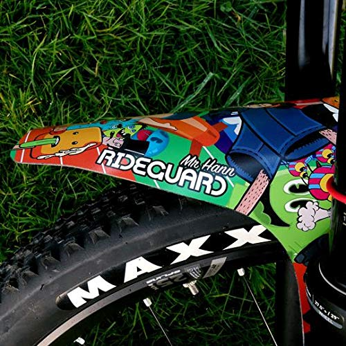 Front MTB Mudguard RideGuard PF1 Enduro Guard Mountain Bike Fender Sticker Hann