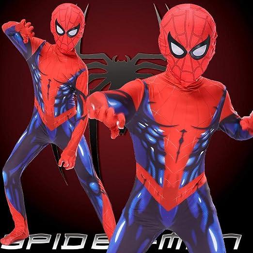 KLEIDEE Cosplay Ropa Traje De Cosplay De Spiderman Marvel 3D ...