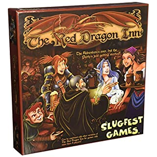 Slugfest Games The Red Dragon Inn Strategy Boxed Board Game Ages 12 & Up