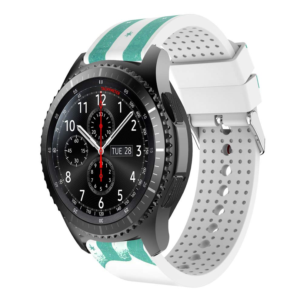 Amazon.com: Jewh Watch Band - Fashion Sports Christmas Elderly Silicone Bracelet - Strap Band for Samsung Gear S3 -Frontier N.22 - Samsung Watch Band: Cell ...