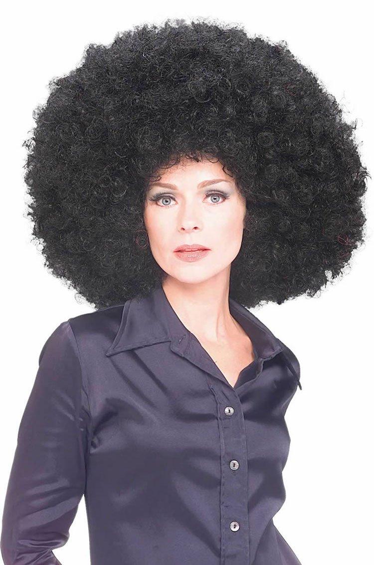 Rubies Super Afro wig, Peluca Súper Afro, negro: Amazon.es: Juguetes y juegos