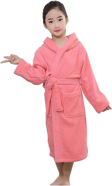GLLMY Bata de baño para niños de algodón Peinado para otoño e Invierno, Gruesa, con Capucha, Suave, cómoda, Absorbente, para niños y niñas Azul Rosa XXXXXS: Amazon.es: Ropa y accesorios