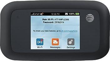 ZTE Velocity 4G LTE Mobile WiFi Hotspot GSM Unlocked - Black