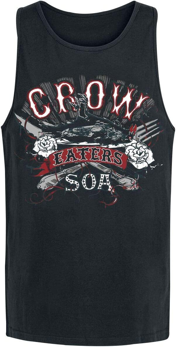 Sons of Anarchy Crow Eaters Top Male zwart