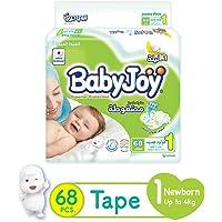 Babyjoy JP Newborn Size 1 68 diapers (Up to 4 kg.)