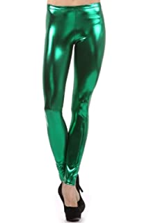 815d199f02cee6 Stretch is Comfort Women's Plus Size Shiny Metallic Leggings at ...