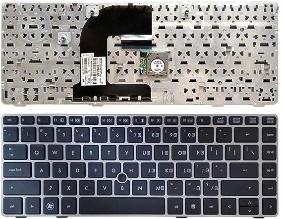 Teclado del Ordenador portátil para HP Elitebook 8470B 8470P ...