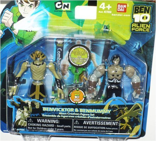 Ben 10 Alien Creation Chamber Mini Figure 2-Pack Benvicktor and Benmummy Bandai 27660