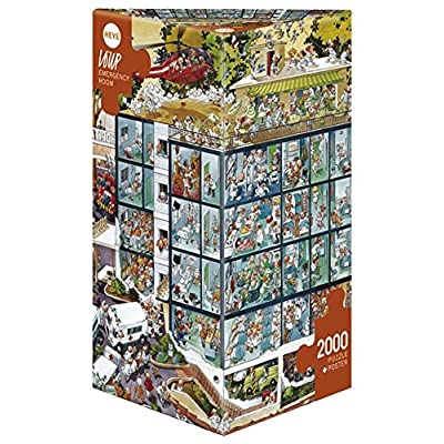 Heye Emergency Room 2000 Piece Jean-Jacques Loup Jigsaw Puzzle
