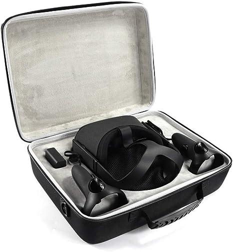 Bolsa de Viaje para Oculus Quest de EVA rígida, Bolsa de Hombro, Caja de Almacenamiento Protectora: Amazon.es: Electrónica