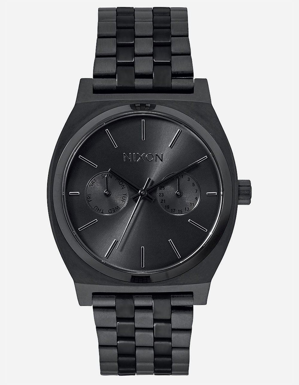 Nixon Unisex Time Teller Deluxe All Black Watch by NIXON