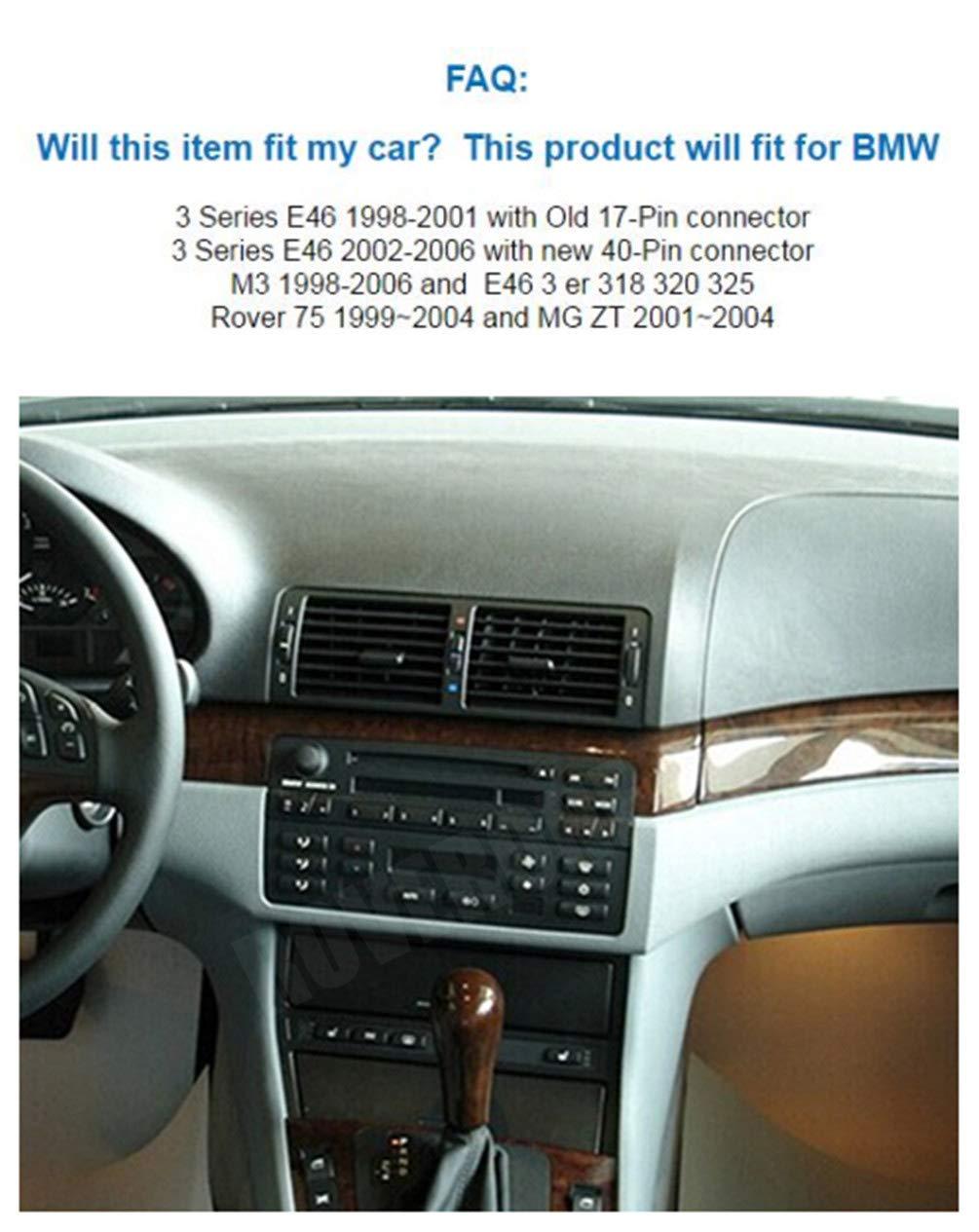 Roverone Android Sistema 7 Inch en Dash Autoradio GPS para BMW E46 ...