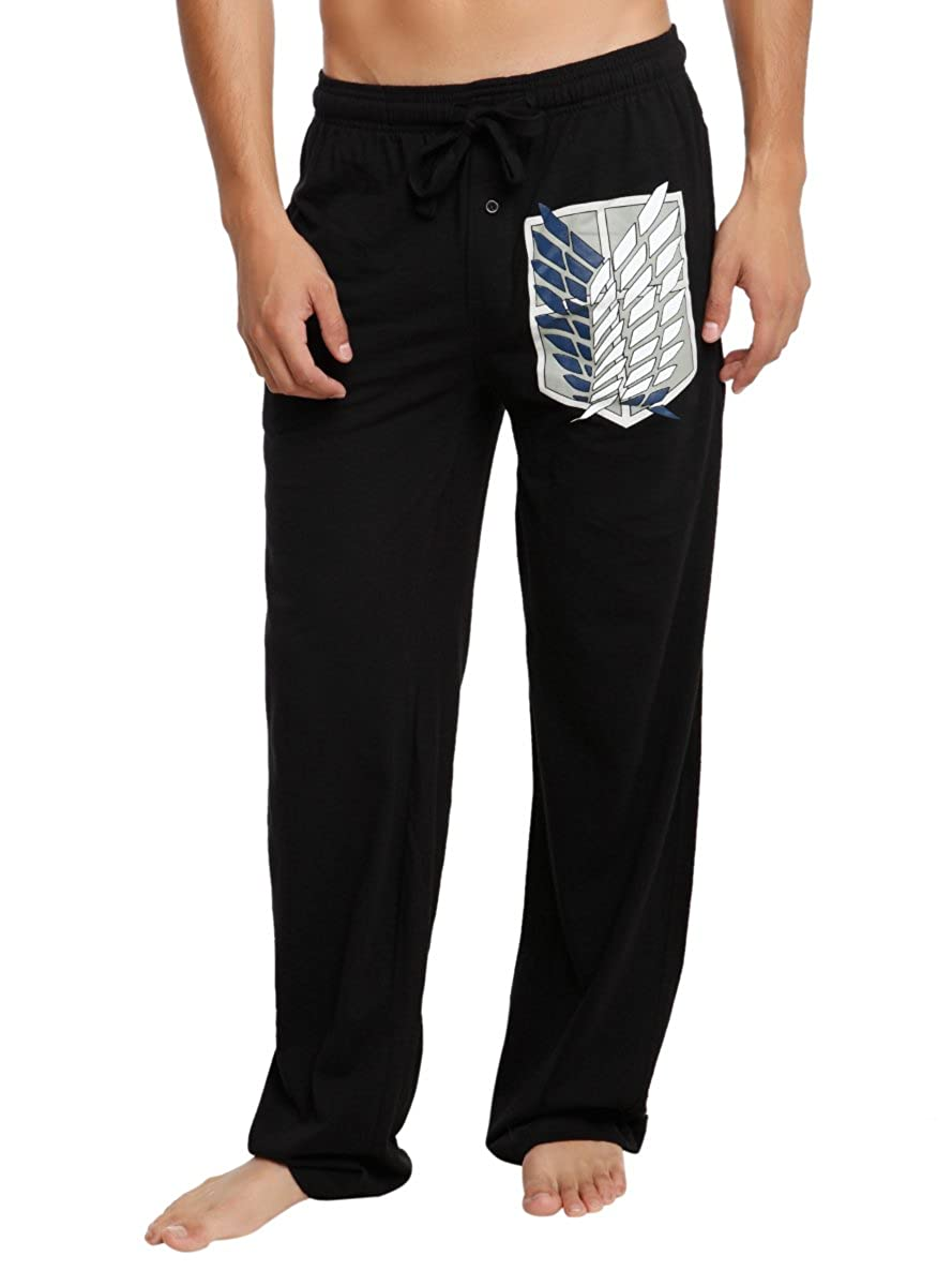Attack On Titan Scouting Legion Shield Guys Pajama Pants Hot Topic