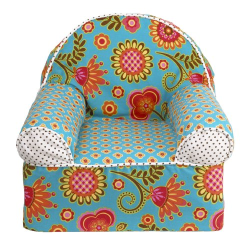 Cotton Tale Designs Gypsy Chair, Turquoise/Red/Orange/Yellow (Red Pottery Barn)