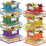 Really Good Stuff Supply Caddy with Label Holders - Set Of 6
