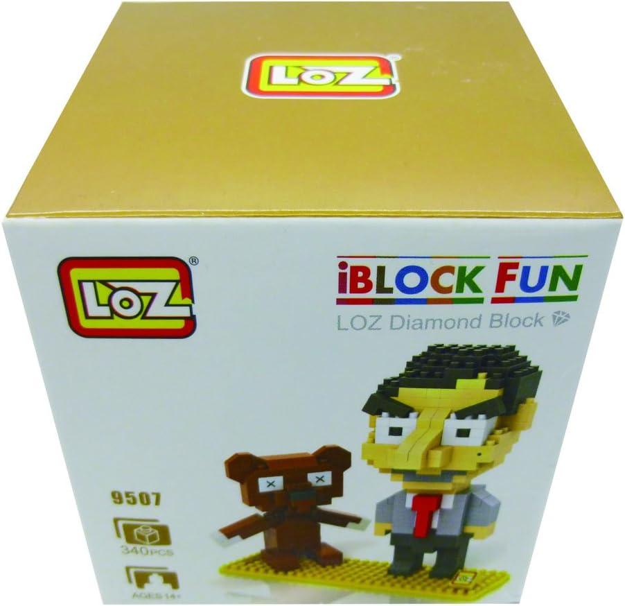 iBlock Fun- Bloques construcción Miniatura LOZ (Novatech 9507): Amazon.es: Juguetes y juegos