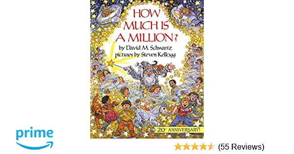 How Much Is A Million Reading Rainbow Books David M Schwartz