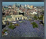 "Kansas City Royals World Series Parade Photo (Size: 12"" x 15"") Framed"