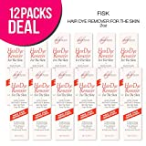 (12 PACKS) Claudia Stevens Hair Dye Remover For The Skin 2oz Deal Package, Hair Color Remover