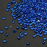 Acrylic Diamonds Table Confetti Party Toy Decorations for Weddings (4.5MM) (2000, Dark blue)