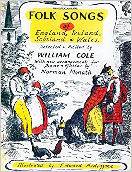 Folk Songs of England, Ireland, Scotland & Wales: Piano/Vocal/Guitar